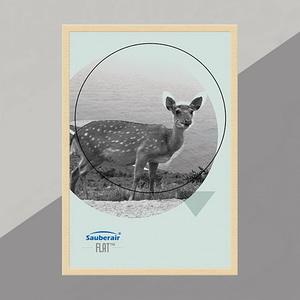 FLAT畫框原木色框梅花鹿(需搭FLAT清淨機)