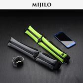 米基洛跑步手機腰包貼身防水隱形運動腰包男女超輕迷你健身小腰帶 英雄聯盟