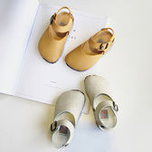 正韓 乳膠墊高品質舒適大頭涼鞋禮物限時八九折