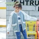 外套女春秋冬裝2020新款初中高中學生韓版寬鬆百搭休閒時尚棒球服 依凡卡時尚