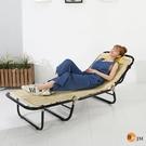 鐵力士 工業風《百嘉美》三折折疊床/萬年床/躺椅 I-AD-CH001 收納櫃 鞋櫃