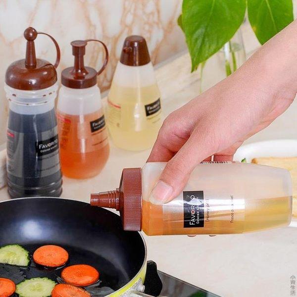 蜂蜜擠醬瓶手抓餅果醬瓶塑料瓶番茄醬瓶壽司擠果醬瓶擠壓瓶沙拉瓶JRM-1279