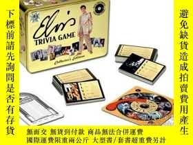 二手書博民逛書店Elvis罕見Collectors Edition Trivia
