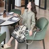 港風復古網紅短外套女冬季新款韓版名媛風氣質翻領寬鬆上衣潮 雅楓居