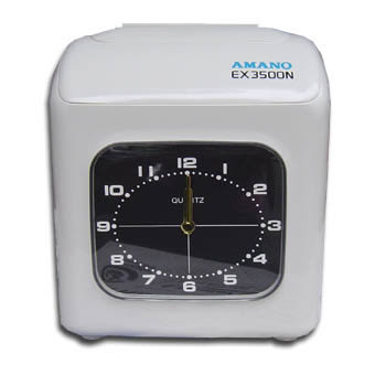 AMANO(日本第一品牌)EX3500N電子打卡鐘