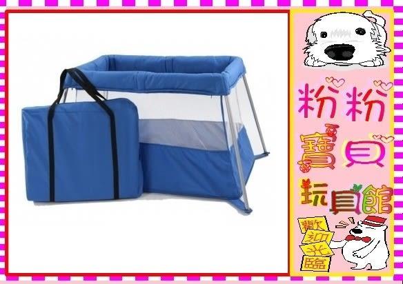 *粉粉寶貝玩具2館*攜帶型遊戲床~現貨紅色~台灣製造