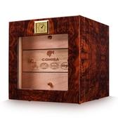 雪茄盒雪茄保濕盒天然醇香雪鬆實木鋼琴烤漆雪茄櫃保濕箱 雪茄櫃