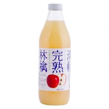 日本青森完熟蘋果汁1L 1入