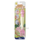 【佳兒園婦幼館】GINO  可調角度幼兒專用叉子-兔子