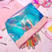 鐳射化妝包收納ins大容量多功能簡約化妝【聚寶屋】