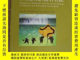 二手書博民逛書店IN罕見TIME FOR THE FUTURE:Singapor
