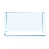 透明熱彎長方形玻璃金魚缸烏龜缸中小型辦公桌水族箱造景魚缸 20*14*16 mks極速出貨