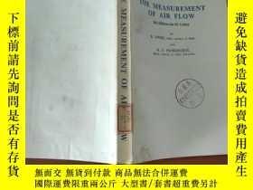 二手書博民逛書店英文《THE罕見MEASUREMENT OF AIR FLOW(氣流測量)》Y25226 E.OWER AND
