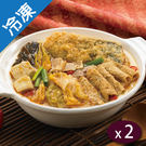 嘉義林聰明沙鍋魚肉禮盒 (2100G±10%/盒)x2【愛買冷凍】