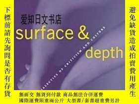 二手書博民逛書店【罕見】Surface And Depth: Dialectic