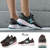 New Balance 慢跑鞋 NB 247 咖啡 藍 Tritium 氚氣系列 二代 運動鞋 女鞋【PUMP306】 WS247FDB
