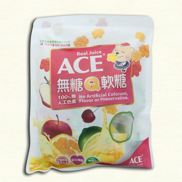 ACE無糖Q軟糖量販包 240g/包【杏一】
