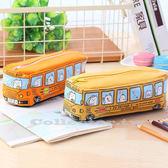 立體巴士School BUS筆袋 巴士筆袋 鉛筆盒 學生文具 學生獎品