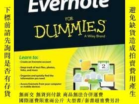 二手書博民逛書店Evernote罕見For Dummies, 2nd EditionY410016 David E. Y. S