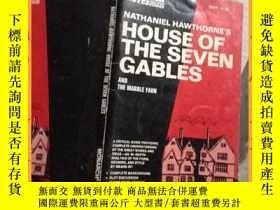 二手書博民逛書店英文書罕見house of the seven gables 七山墻之家Y16354 請見圖片 請見圖片