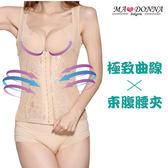 輕盈420丹 塑身衣 7063 收腹 挺胸 防駝 塑腰 纖體 調整型 束身 兩件組