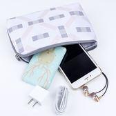 ✭米菈生活館✭【T26】雅緻系列數碼包 印花 出國 便攜 旅行 收納 出差 迷你 整理袋 數據線