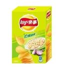 Lay's 樂事經濟盒 - 香蔥奶焗 (160g/盒)【合迷雅好物超級商城】