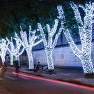 圣誕led小彩燈星星燈閃燈串燈 全館免運