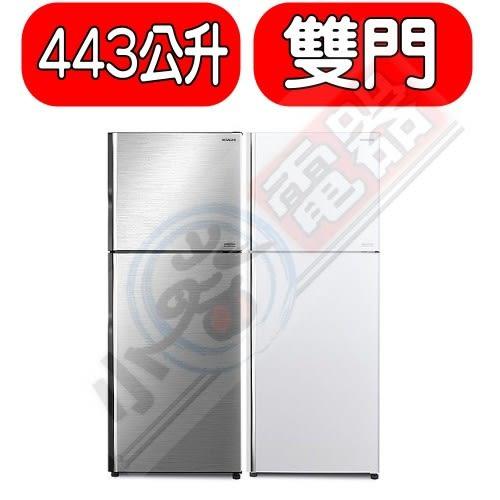 日立冰箱【RV449】443公升雙門冰箱