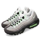 Nike Air Max 95 Fresh Mint 灰 綠 男鞋 復古 慢跑鞋 運動鞋【PUMP306】 CD7495-101
