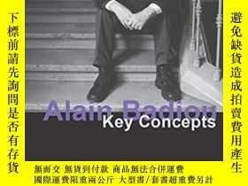 二手書博民逛書店Alain罕見BadiouY364682 A. J. Bartlett Acumen Publishing