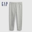 Gap女幼童 布萊納系列 基本款純色針織褲 760343-灰色