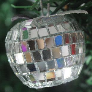 聖誕樹裝飾 超靚玻璃蘋果 6個裝