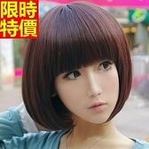 短假髮-可愛齊瀏海修臉流行女美髮用品3色69o62[巴黎精品]