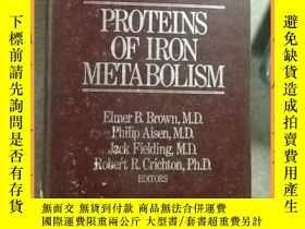 二手書博民逛書店英文書罕見proteins of iron metabolism 鐵代謝 白質Y16354 請見圖片 請見圖片
