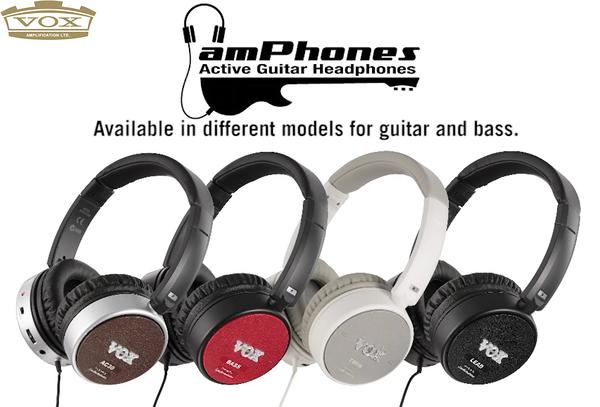 小叮噹的店- 耳機效果器 VOX amPhones (AC30/BASS/LEAD/TWIN) 鐵三角耳機