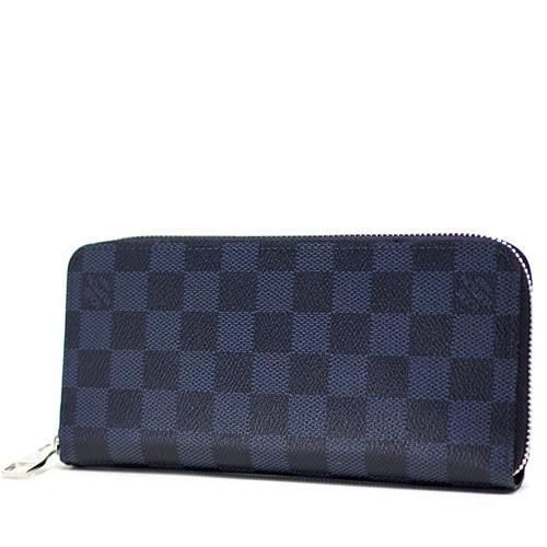 茱麗葉精品 全新精品Louis Vuitton LV N62240 Zippy 黑棋盤格紋多功能拉鍊長夾(預購)