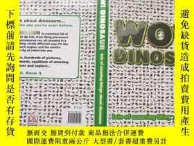 二手書博民逛書店Wow!罕見Dinosaur Dorling Kindersle