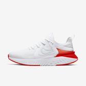 Nike WMNS Legend React 2 [AT1369-101] 女鞋 運動 慢跑 避震 包覆 路跑 白橘