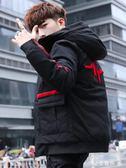 冬季外套男士韓版連帽棉衣潮流冬裝防寒服個性棉襖加厚羽絨棉服男igo 金曼麗莎