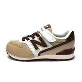 New Balance 中童鞋 卡其色  男女童鞋 兒童復古跑鞋 寬楦 慢跑鞋 NB 996 KV996BEY