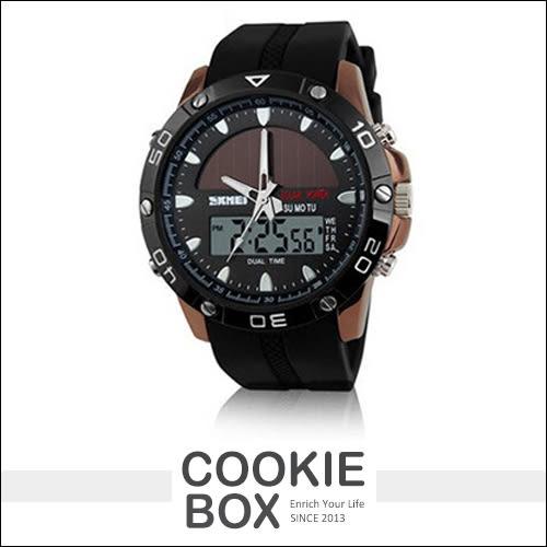 SKMEI 時刻美 時尚款 50米 防水 運動 手錶 多功能 酷炫 夜光 冷光 指針錶 電子錶 *餅乾盒子*