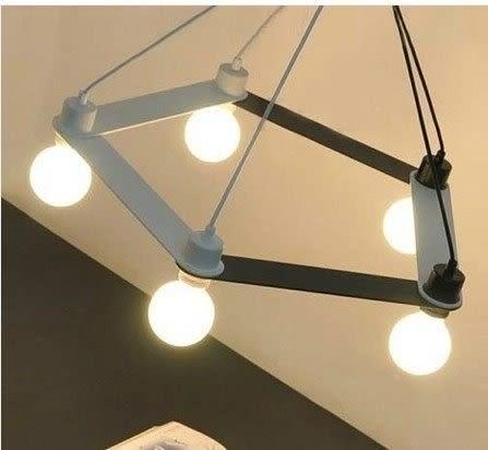 設計師美術精品館宜家客廳燈餐廳燈臥室燈Link lapm五邊形吊燈