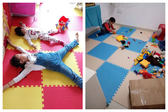 【40片裝】泡沫地墊拼圖地毯加厚鋪地板墊子兒童爬行墊拼接爬爬墊igo  歐韓流行館