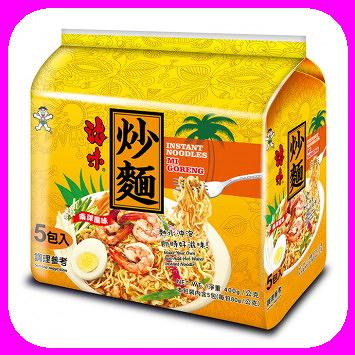 浪味炒麵(80gx5入)*6組/箱南洋風味-就是原味啦【合迷雅好物超級商城】