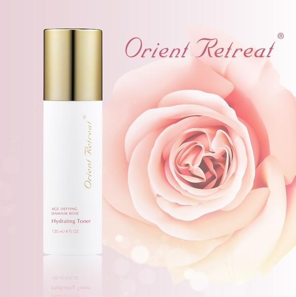 【Orient Retreat登琪爾】大馬士革玫瑰抗老醒膚水 Age Defying Damask Rose Hydrating Toner (120ml/瓶)