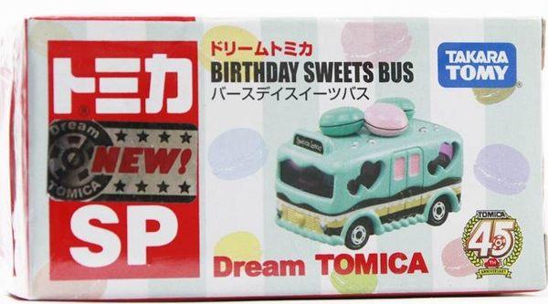 Dream TOMICA 夢幻小汽車【SP45周年紀念車 BIRTHDAY SWEETS BUS-828914】