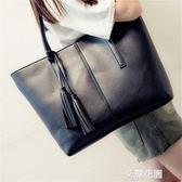 大包包女2018新款潮韓版百搭時尚潮托特包大容量包手提包單肩大包『艾麗花園』