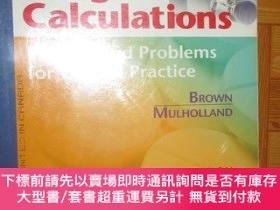 二手書博民逛書店Drug罕見Calculations: Process and Problems 【詳見圖】Y255351 B