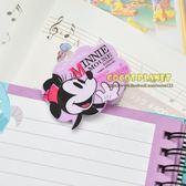 日本迪士尼夾子 米老鼠 米妮 造型夾 夾子 曬衣夾 資料夾 文件夾 書籤夾 COCOS TY040